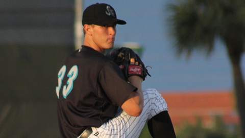 Marlins prospect Chad James is 0-11 through 16 starts despite a 3.38 ERA.