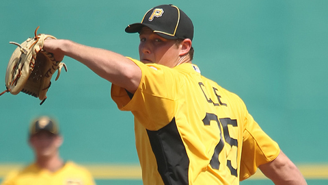 Right-hander Gerrit Cole was the first overall pick in last June's Draft by Pittsburgh.