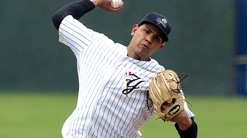 Dellin Betances had been winless in eight Triple-A starts until Friday.
