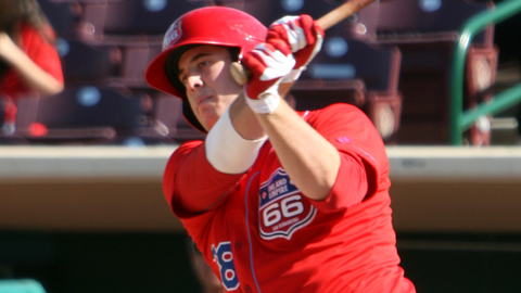 C.J. Cron, a 2011 first-round pick, is hitting .319 in May.