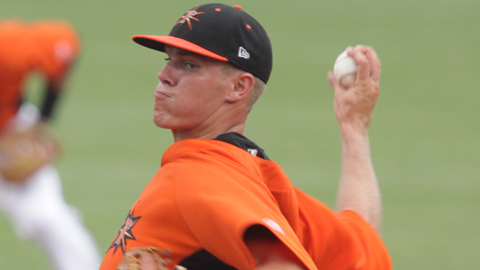 Dylan Bundy is 2-1 with a 0.68 ERA in 10 starts across two Minor League levels.
