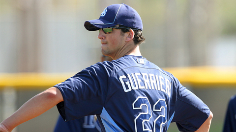 Taylor Guerrieri was selected 24th overall by the Rays in the 2011 Draft.