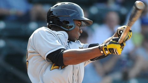 Gregory Polanco was the South Atlantic League's top prospect.
